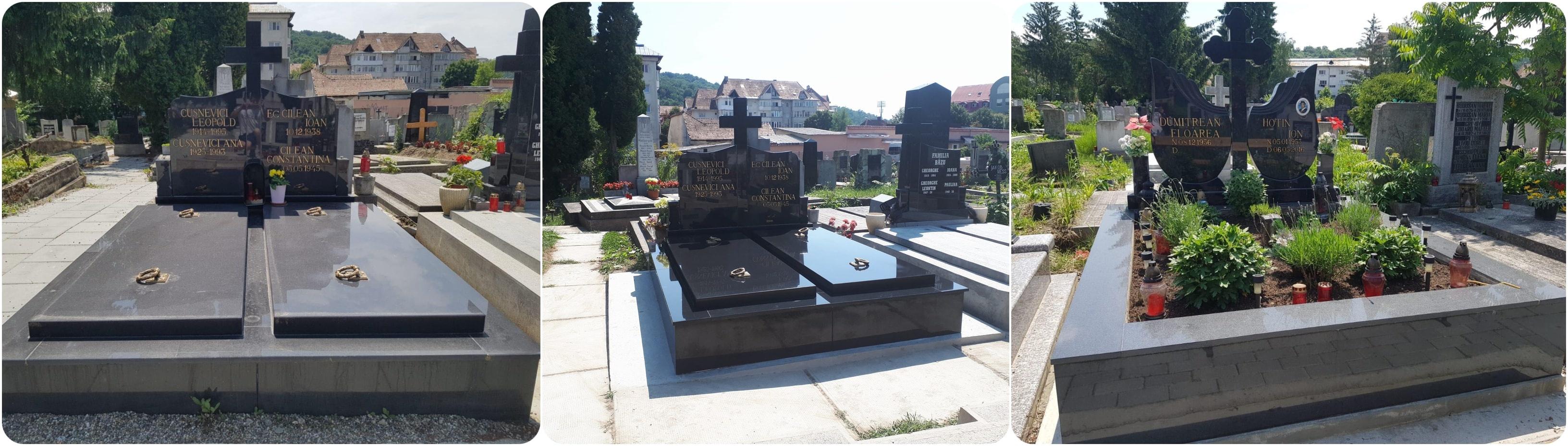 lucrari funerare monumente granit bistrita